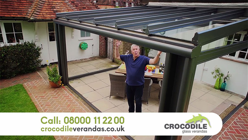 Crocodile Glass Verandas TV advert | Hightower Video Production